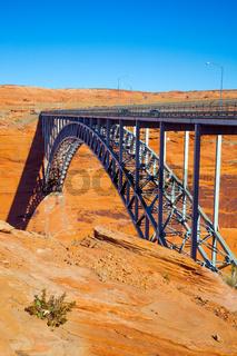 Glen Canyon Bridge over the Colorado River