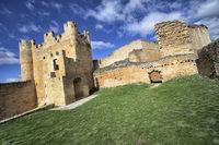 Castle of Berlanga de Duero, Soria, Castilla y León, Spain