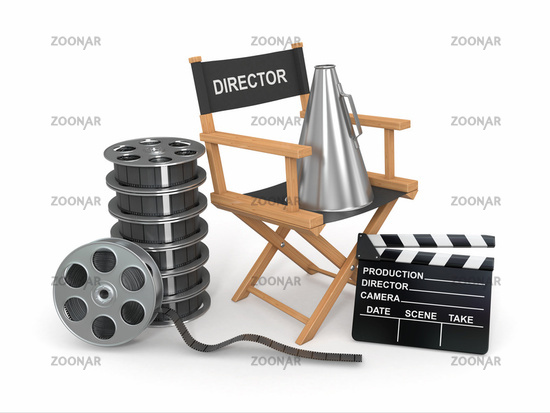 Movie industry. Producer chair
