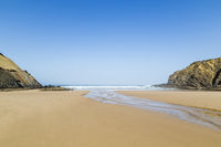 beach, Praia do Carvalhal, Alentejo, Portugal,