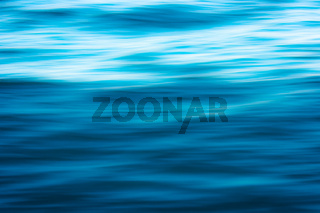 Beautiful blue water surface as a background texture