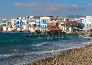 Little Venice, Mykonos Island, Greece