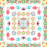 Hungarian embroidery pattern 92