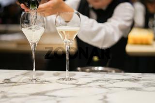 Stylish wine glass image of