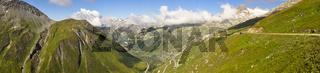 Furka Pass, Road Through Alps, Switzerland, Europe