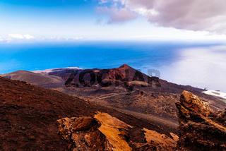 Teneguia Volcano in Fuencaliente, Island of La Palma