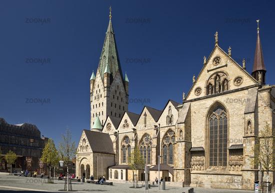 Paderborn Cathedral, Paderborn, East Westphalia-Lippe, North Rhine-Westphalia, Germany, Europe