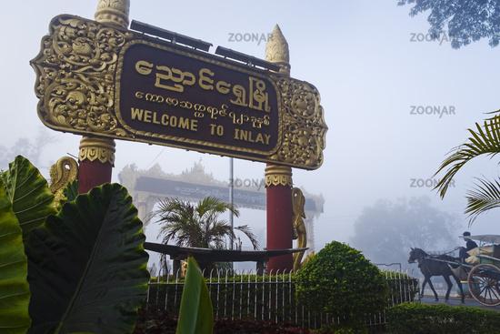 City gate, Nyaung Shwe, Myanmar
