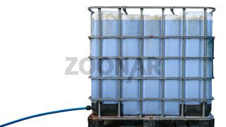 Isolated Intermediate Bulk Container For Liquids