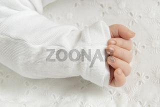 Hand und Finger eines Babys