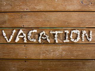Vacation concept, resort at Maldives