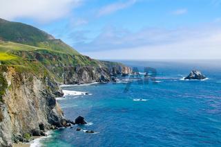 Scenic Vista on California State Route 1
