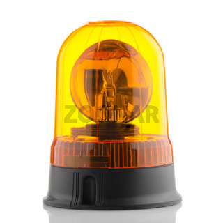 Orange rotating beacon