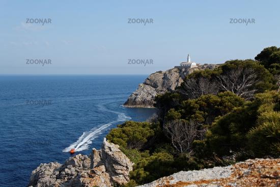 Lighthouse of Capdepera at Mallorca