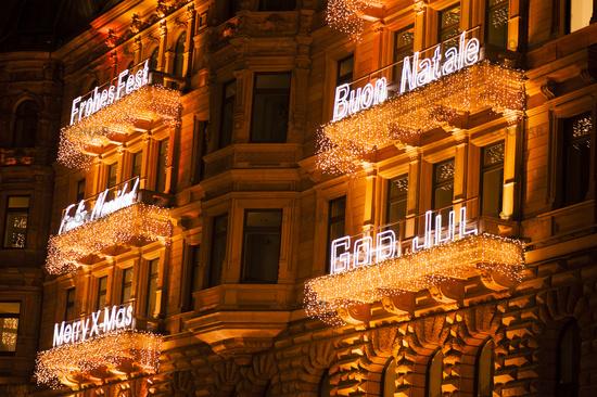 Christmas interior lighting