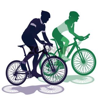 ein Paar beim Fahrradfahren.jpg