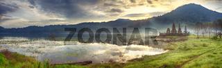 Tamblingan lake. Bali
