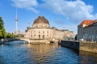 Museum island on Spree river in center of Berlin, Germany