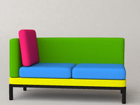 Bunte Couch