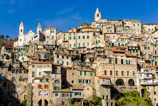 The village of Ceriana