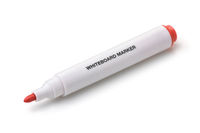 Red whiteboard marker pen