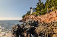 Bass Harbor Lighthouse, Acadia National Park, Maine, Mount Desert Island, New England, United States