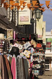 Einkaufsstrasse in Albufeira