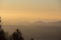 Morgenstimmung ueber Bergen/Morning mood over mountains