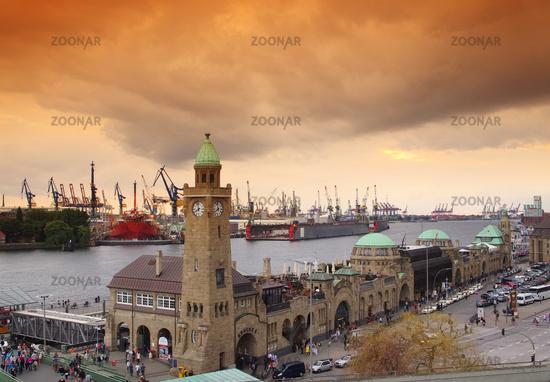 Hamburg Landungsbruecken - St. Pauli Landing Stages 03