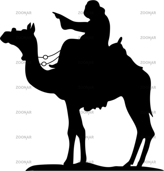 Bedouin camel riders - Holy three Kings