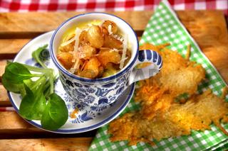 Lizchens Käsesuppe nach Allgäuer Art