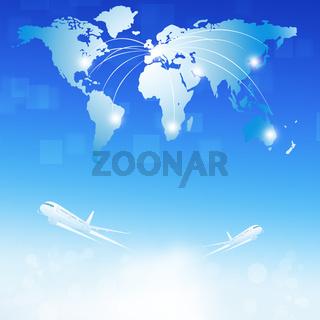 World Air Travel destinations