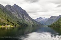 Norangsfjorden in Norway