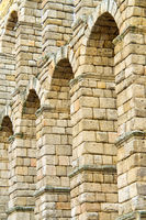 Roman Aqueduct of Segovia, Spain, Europe