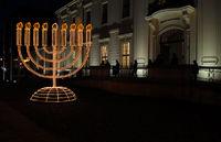 Leuchter zum Chanukkafest