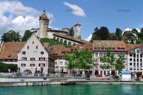 Cityscape of Schaffhausen, Switzerland