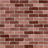 Brick wall seamless tile