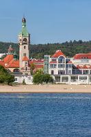 Resort Town of Sopot in Poland