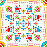Hungarian embroidery pattern 84