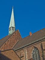 St.Johann Provost Church in Bremen, Germany