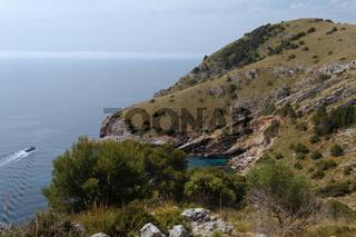 Cap Vermell auf Mallorca
