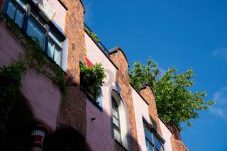 grüne Zitadelle in Magdeburg