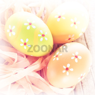 Abstract Easter background
