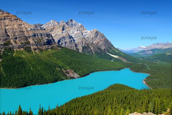 Peyto Lake of Canada