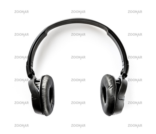 wireless headphones on a white background