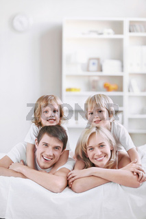 Young families with children at home