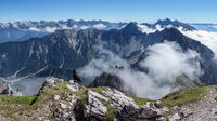View from a mountain in Tyrol