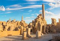 Ruins and obelisks