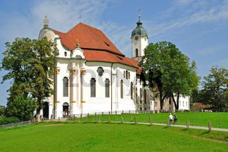 die Wieskirche in Steingaden