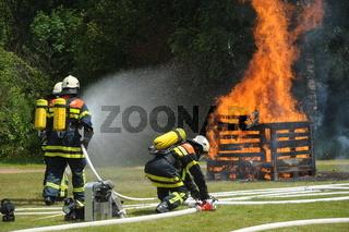 Brandschutzübung
